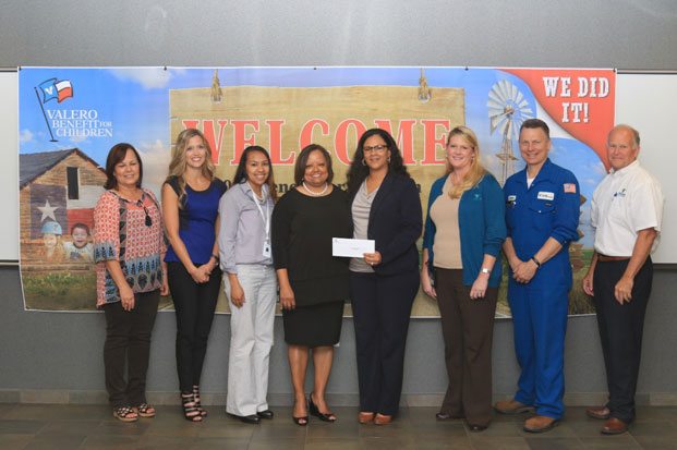 Communities-In-Schools-of-Southeast-Texas-receives-funding-from-Valero-Benefit-for-Children